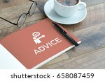 advice concept | Shutterstock . vector #658087459