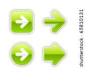 4 Glossy Arrow Sign Web 2.0...