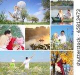 couple outdoor | Shutterstock . vector #65813473