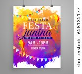 Festa Junina Party Celebration...