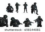 Set Swat Team An Assault - Fine Art prints