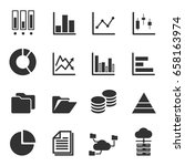 data icons   | Shutterstock .eps vector #658163974