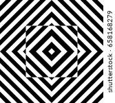 seamless tile with black white...   Shutterstock .eps vector #658168279
