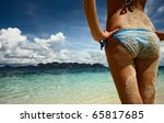 part of a body of a young woman ... | Shutterstock . vector #65817685