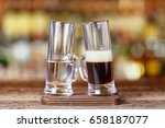 cocktail on the basis of vodka  ... | Shutterstock . vector #658187077