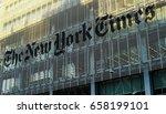 new york city  ny  10 jun 2017  ... | Shutterstock . vector #658199101