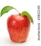 ripe apple   Shutterstock . vector #65822140
