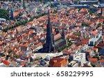 Closer Aerial View Of Ulm...