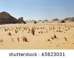 Western desert, Sahara, Egypt - stock photo