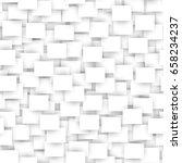 white rectangle seamless... | Shutterstock .eps vector #658234237
