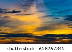 Twilight Colorful Sky With...