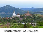 Beautiful Five Buddha Statue...