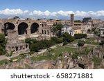 Roman Forum In The City Of Rom...