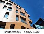 modern building. modern office...   Shutterstock . vector #658276639