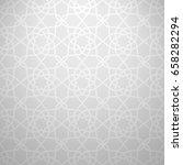 light oriental elegance... | Shutterstock .eps vector #658282294