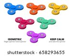 isometric 3d vector set of ... | Shutterstock .eps vector #658293655