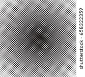 colorful halftone background ... | Shutterstock . vector #658322359