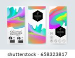 geometric trendy backgrounds on ...   Shutterstock .eps vector #658323817