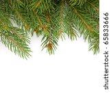 christmas green framework... | Shutterstock . vector #65833666