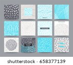 artistic templates collection ... | Shutterstock .eps vector #658377139