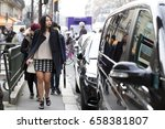 paris march 9  2015. street... | Shutterstock . vector #658381807