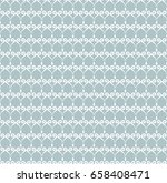 seamless classic blue and white ... | Shutterstock . vector #658408471