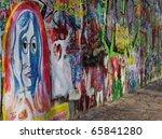 prague  czech republic   april... | Shutterstock . vector #65841280