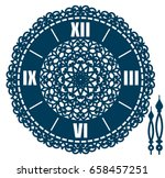 diy laser cutting design.... | Shutterstock .eps vector #658457251
