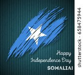 somalia independence day... | Shutterstock .eps vector #658475944