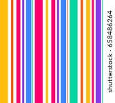 abstract seamless rainbow color ... | Shutterstock .eps vector #658486264
