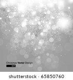light silver abstract christmas ... | Shutterstock .eps vector #65850760