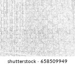 horizontal black and white maze ... | Shutterstock . vector #658509949