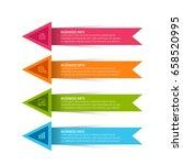 modern infographics template | Shutterstock .eps vector #658520995