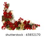 Christmas Decorative Border Or...