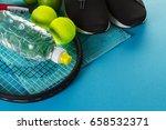 healthy life sport concept.... | Shutterstock . vector #658532371