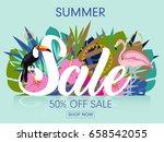 summer sale | Shutterstock .eps vector #658542055