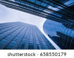 office building in paris | Shutterstock . vector #658550179