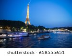 paris  france june 1  2016  ... | Shutterstock . vector #658555651