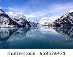 panoramic glacier bay national... | Shutterstock . vector #658576471