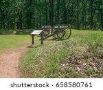 kennesaw mountain battlefield | Shutterstock . vector #658580761
