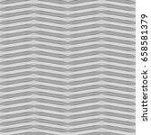 grey wavy lines. and triangles... | Shutterstock .eps vector #658581379