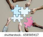 togetherness connection... | Shutterstock . vector #658585417