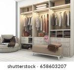 3d rendering minimal... | Shutterstock . vector #658603207
