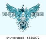 vector tshirt design | Shutterstock .eps vector #6586072