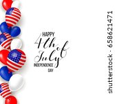 4th fourth of july  united... | Shutterstock .eps vector #658621471