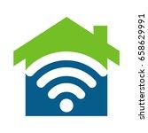 home wireless fidelity   hot... | Shutterstock .eps vector #658629991