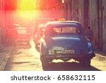 feb. 18  2017  havana  cuba   a ... | Shutterstock . vector #658632115