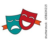 mask icon image | Shutterstock .eps vector #658634215