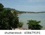 fisherman village bophut beach  ...   Shutterstock . vector #658679191