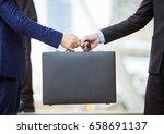 business transfer deal.... | Shutterstock . vector #658691137